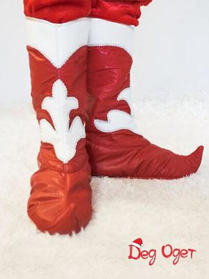 имитация сапог красного цвета в тольятти